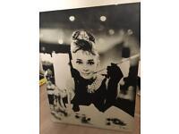 Audrey Hepburn Canvas/Print/ Picture
