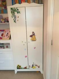 Ikea kids wardrobe