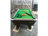 Pool Table Cue x2 triangle chalk