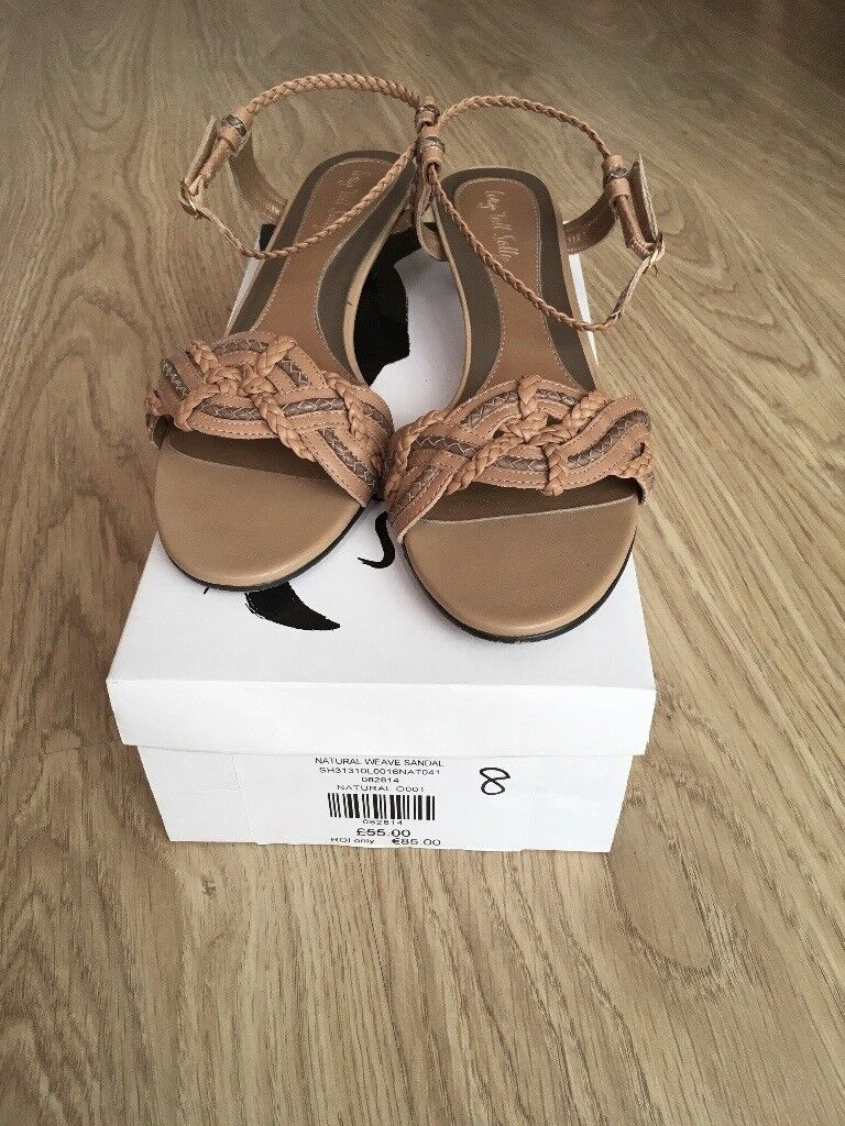3b6f25cb7bf41 LADIES NATURAL WEAVE SANDAL - SIZE 8 from LONG TALL SALLY
