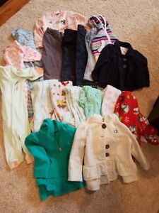 12 months warm girl clothes