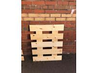 Pallet Tops Decking/Fencing/Furniture Projects