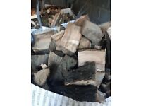 BIG BAG SEASONED HARDWOOD SPLIT LOGS
