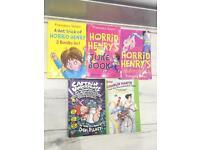 Childrens books Horrid henry