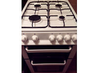 Gas cooker 50cm wide - delivery available.