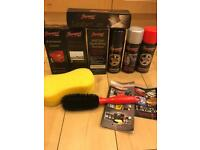 Car cleaning/ protection kit