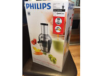 Used - Philips HR1867/21 Viva Collection Quick Clean Juicer - Brushed Aluminium