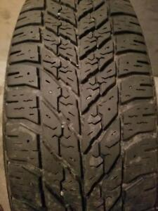 4 PNEUS HIVER GOODYEAR 195 65 15 - 4 WINTER TIRES