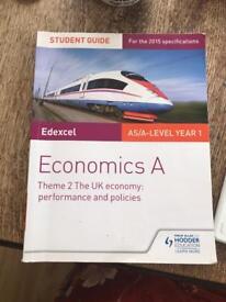 Economics A Theme 2 - A Level - Edexcel Textbook
