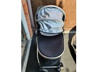 Tutti Bambini Riviera 3 in 1 travel system - children pram, moses basket and car seat