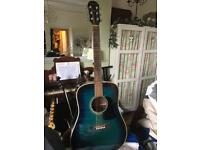 Acoustic Guitar - Aria - Used condition - Great sound