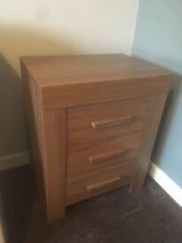 Three piece bedroom furniture