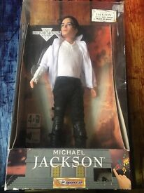 Michael Jackson doll black or white