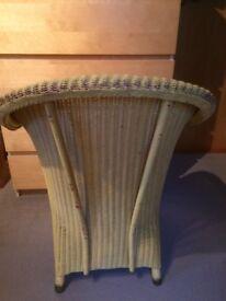 Basket bedroom chair