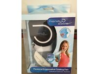 Handy Cooler personal fan. Brand new in box!