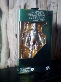 Star Wars Empire Stikes Back 40th Anniversary Black Series Carbonized Boba Fett