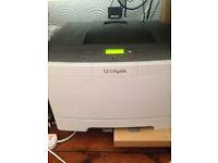 Lexmark C544 colour laser printer