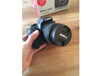 CANON 1300D DSLR - WITH 32GB SD CARD