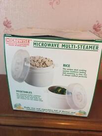 Microwave multi steamer
