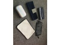 Bundle of handbags/ clutch bags