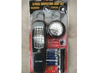 3 PIECE INSPECTION LIGHT SET (New & Boxed)