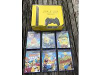 PlayStation 2 boxed console and kids games. Ps2