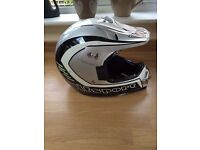 wulfsport motocross helmet - size medium ( also suitable for mtb, downhill, dh mountain bike)