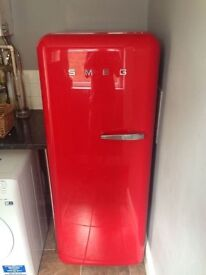 SMEG fridge in red RRp £1,000