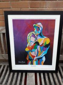 Steven Brown framed art print