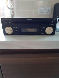 Nissan Micra Car Radio and CD player
