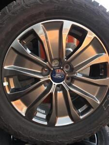275/55/20 Hankook ete nouveau + mags Ford 20 pouces + sensors