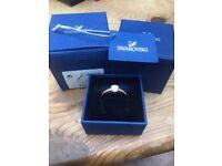 Size 58 ladies Swarovski ring