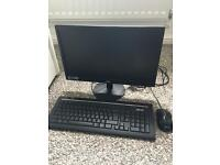 AOC Monitor and ASUS Keyboard & Mouse