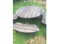 Garden bench free to anyone