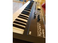 Roland Juno di synthesizer. In excellent condition in perfect working order.