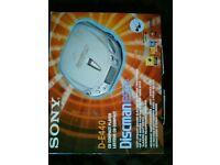 Sony Discman DE440 New Boxed £15 ono