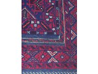 Beautiful red tapestry rug