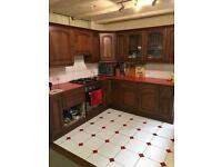 Cherry wood Kitchen doors