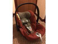 Cybex Priam Cloud Q Platinum Infant Car Seat