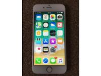 iPhone 6s 64GB, unlocked, gold colour, mint condition, full working.