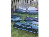 Mg spare parts doors boot. Bonnet ect