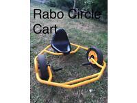 Outside garden toy. Go Cart