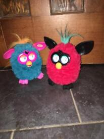 2x furbies for sale. All working. No longer played with.