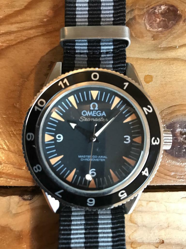 Men's Omega Seamaster 300. James Bond Spectre