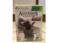 Assassins Creed 3 Xbox 360