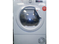 Hoover DNCD813B Condenser Tumble Dryer with 8kg Load White £120