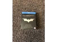 The Dark Knight Trilogy blu-ray: Mint condition - still in cellophane
