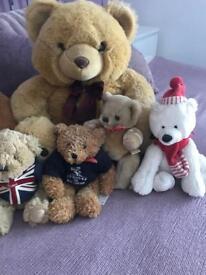 Bundle of teddy bears