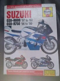 GSX-R SRAD manual