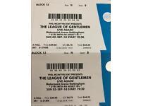 2x League of Gentlemen Tickets Nottingham 2nd Sept